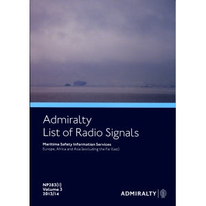 2008/09 Admiralty List of Radio Signals: Maritime Safety Information Services  Europe, Africa and Asia (Excluding the Far East)  Volume Three (1)