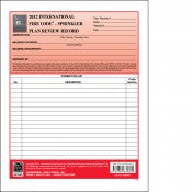 2012 International Fire Code Sprinkler Plan Review Records