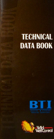 Technical Data Book: A Quick Reference Book of Formulas, Charts and Tables