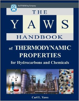 The YAWS HB of Thermodynamic Properties of Hydrocarbons & Chemicals