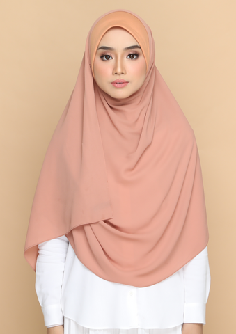 Nayla Basic in Apricot Chiffon