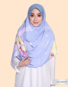 Mika Orchid In BELLES [Instant Shawl]