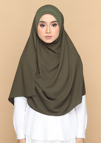 Nayla Basic in Kale Green