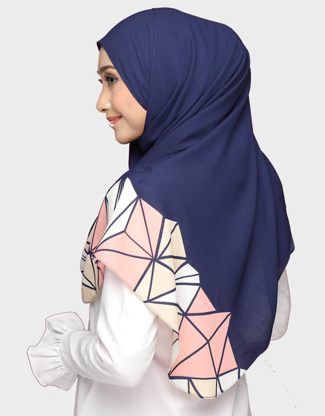 Abstract Wide Shawl In Fatema