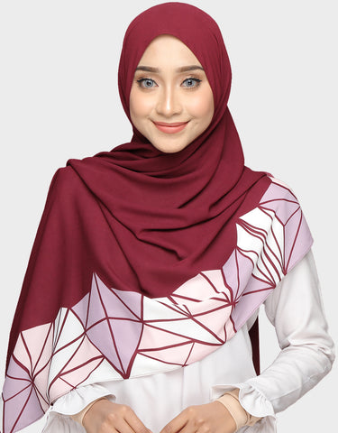 Abstract Wide Shawl In Khadeeja