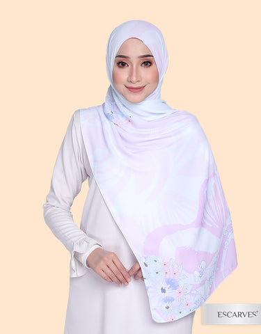 Mika Orchid In MILTONIA [Basic Shawl]