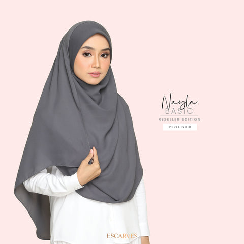 Nayla Basic in Perle Noir[Limited Edition]