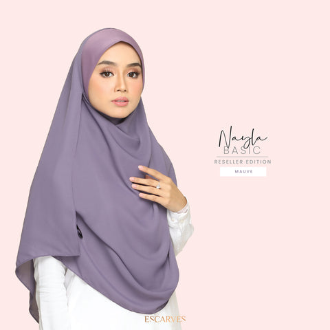 Nayla Basic in Mauve[Limited Edition]