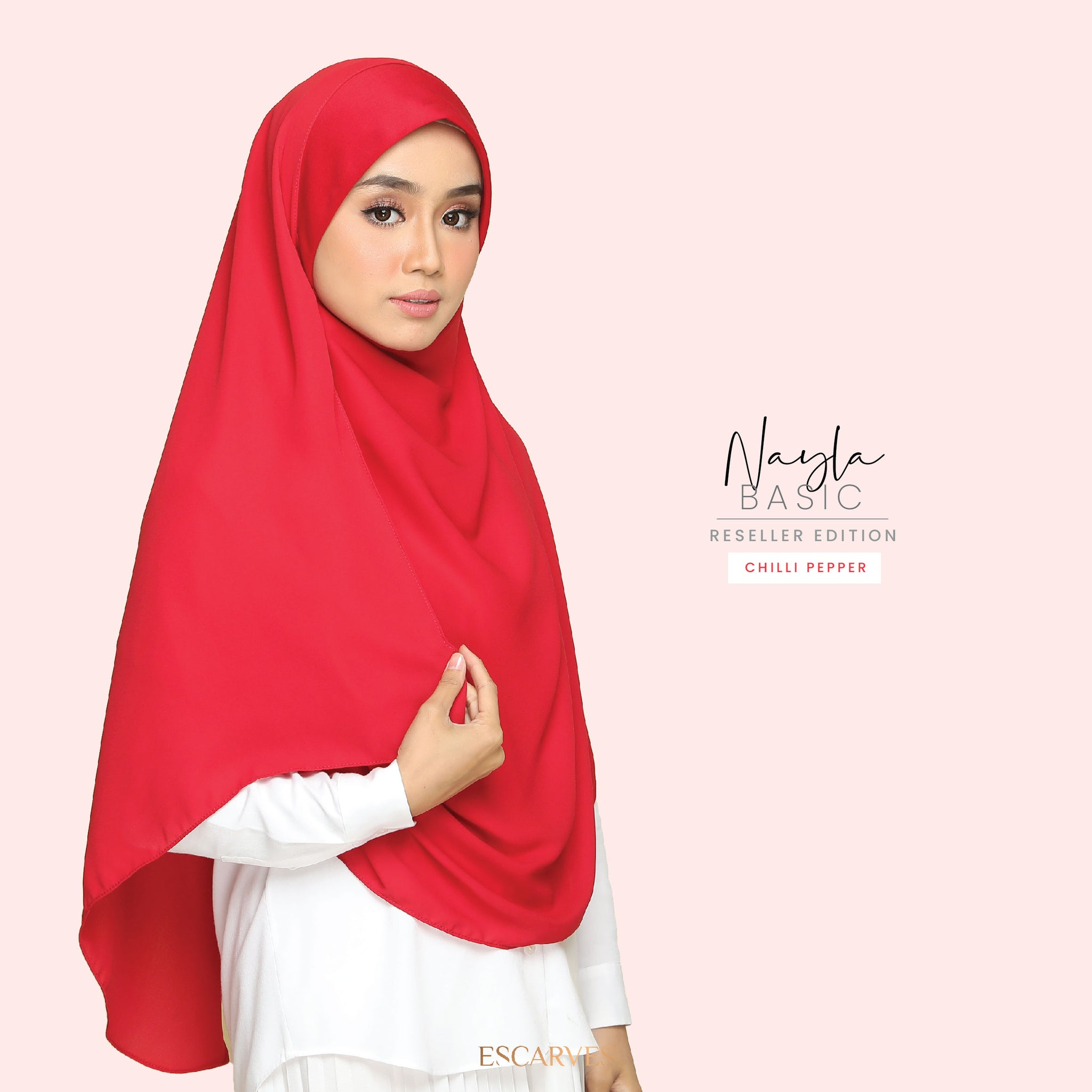 Nayla Basic in Chilli Pepper[Limited Edition]