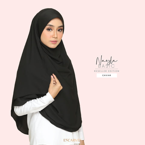 Nayla Basic in Caviar[Limited Edition]