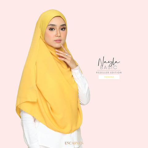 Nayla Basic in Banana[Limited Edition]