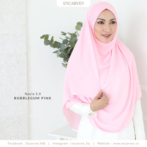 Nayla Basic in Bubblegum Pink