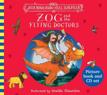 Zog And The Flying Doctors Bk & Cd