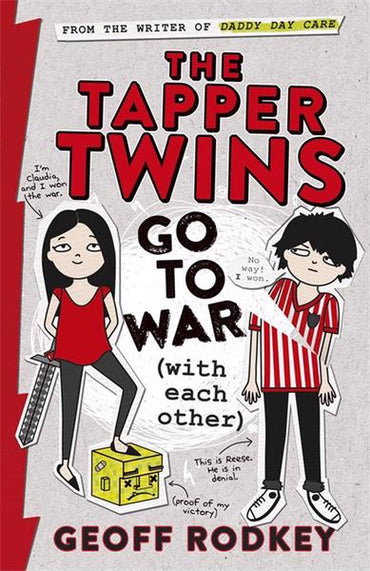 Tapper Twins Go To War With Each Other B/F