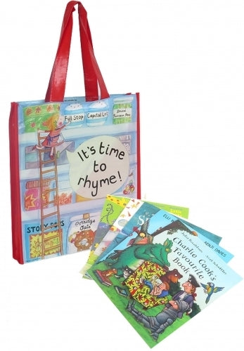 Its Time To Rhyme - 10 Book Carry Bag