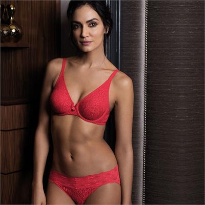 Wacoal Halo Lace Hibiscus Brief