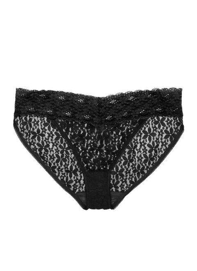 Wacoal Halo Lace Brief Black - WA878205BLK