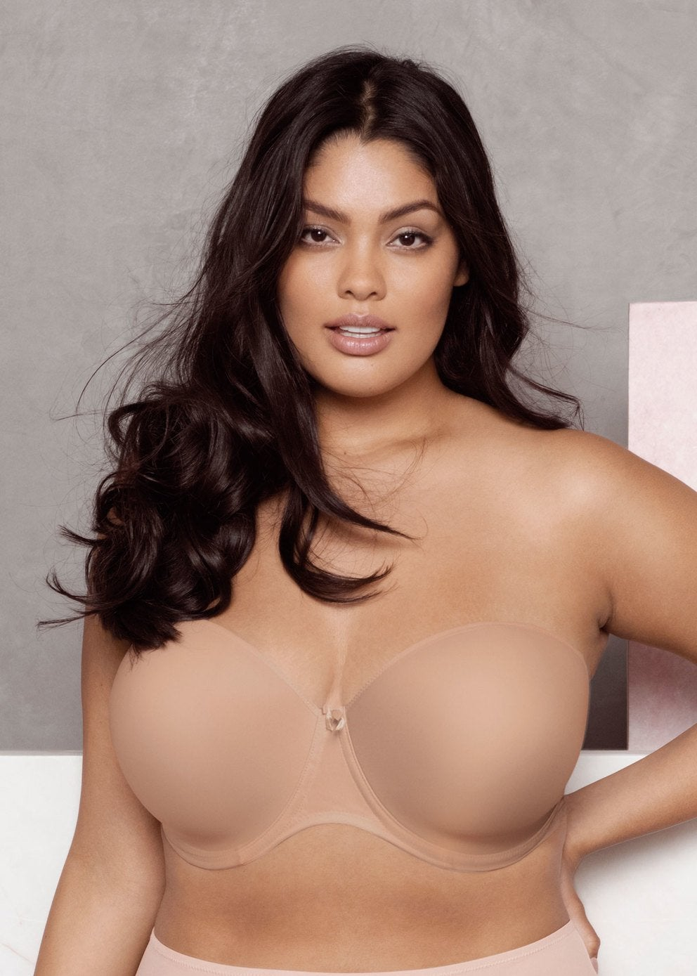 Elomi Smooth Strapless Bra Nude - EL4300SAH