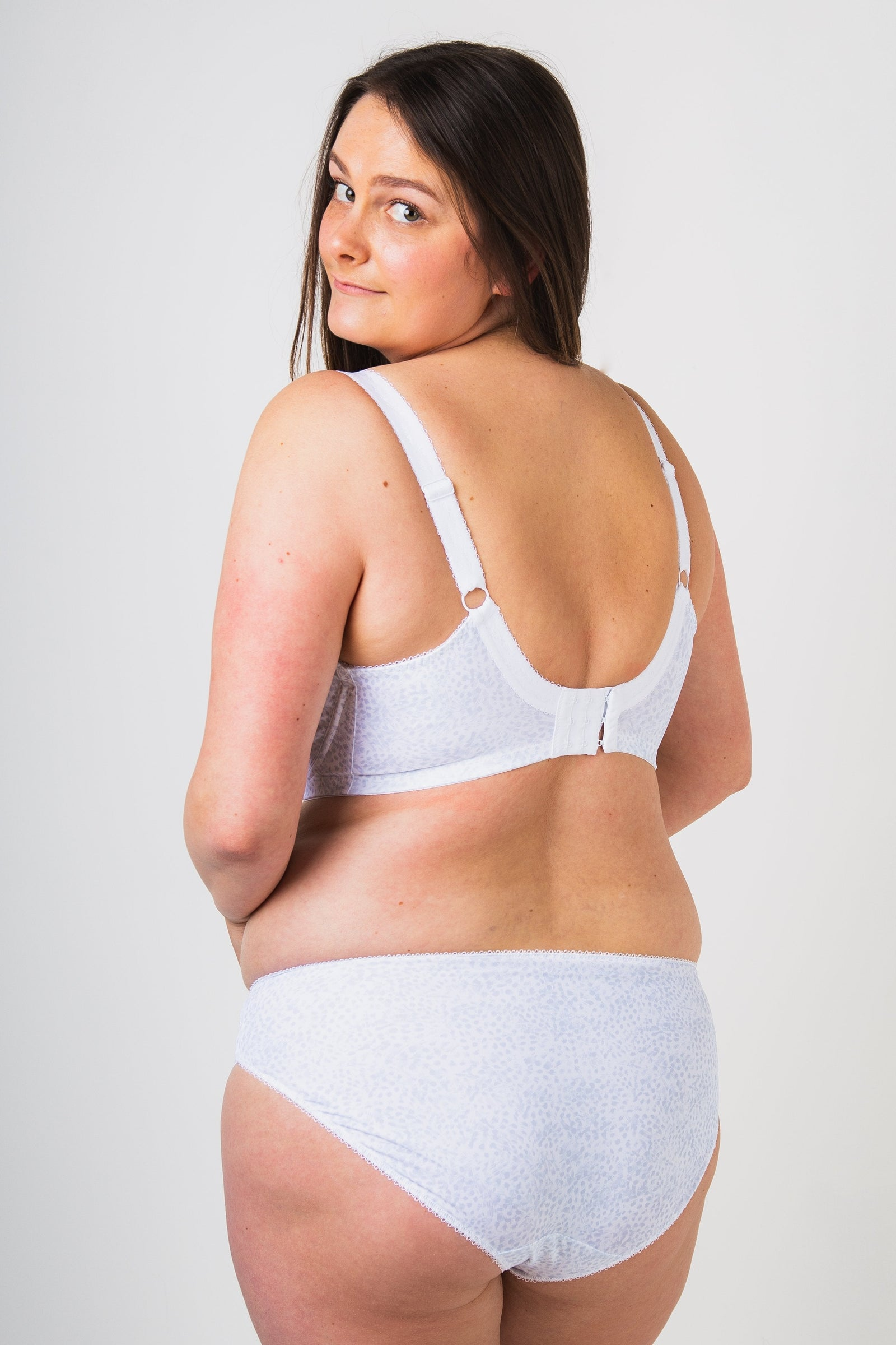 Elomi Morgan White Uw Banded Stretch Bra - EL4110WHE