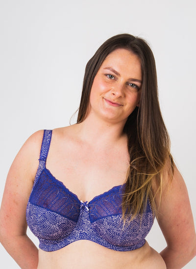 Elomi Mariella Blue Bird Underwired Bra EL4420BLD