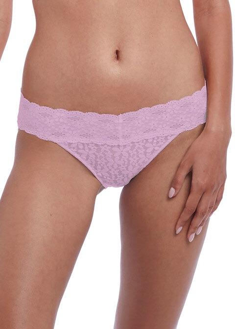 Wacoal Halo Lace Sweet Pink Brief