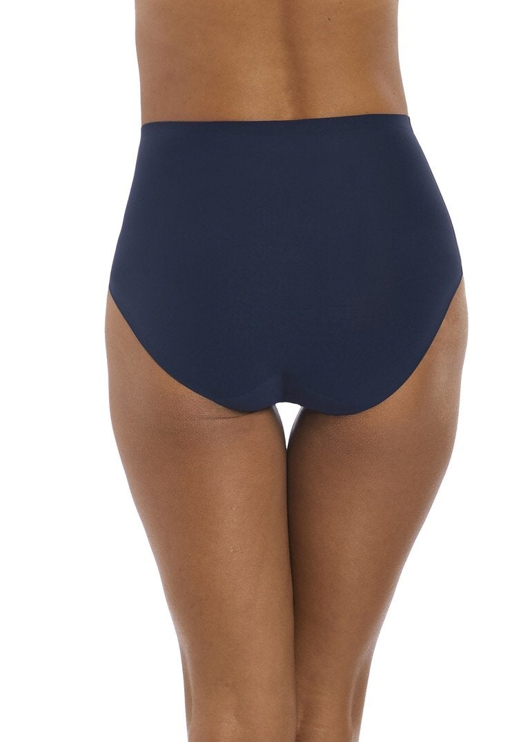 Fantasie Smoothease Navy Invisible Stretch Full Brief