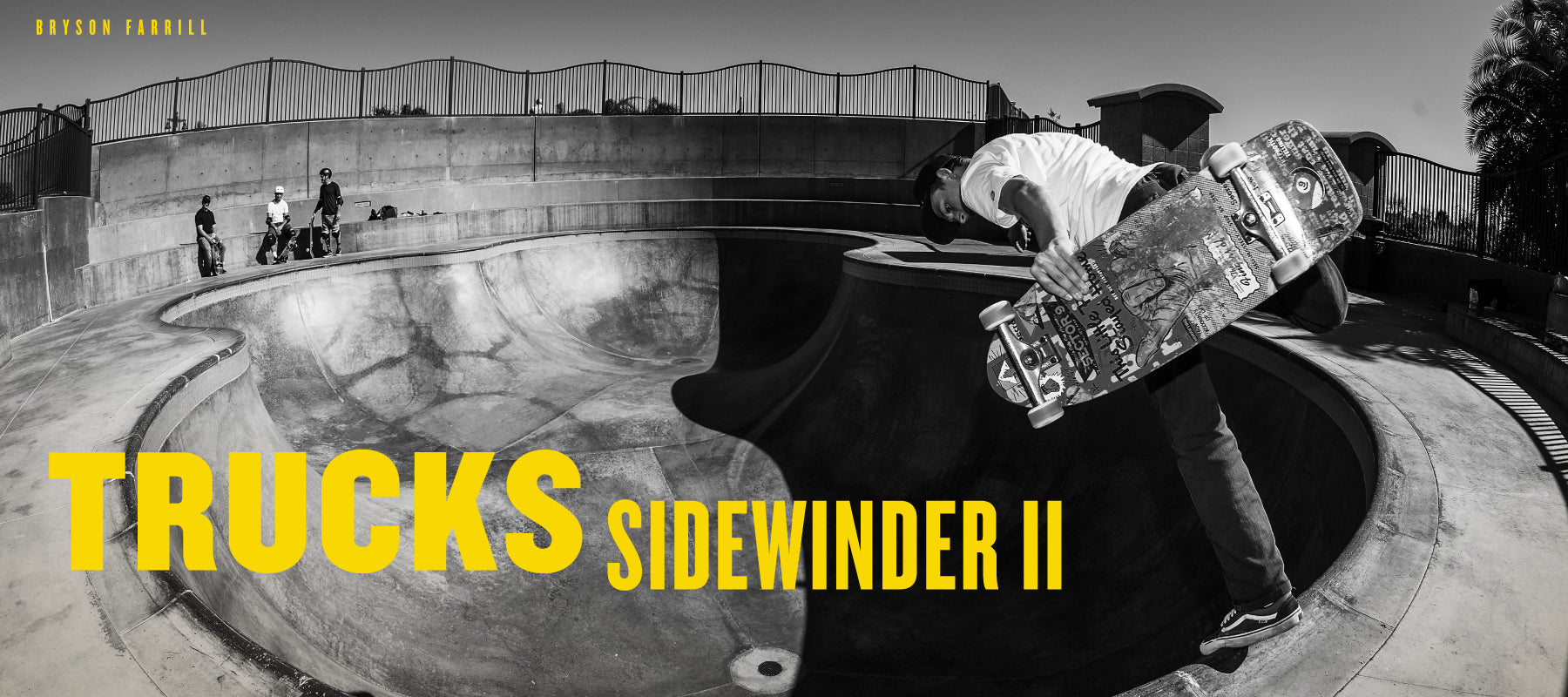 ccfbc053095 Our Sidewinder II trucks feature a patented double kingpin style and best  suited for carving. The knurled kingpins stay securely in place while  riding and ...
