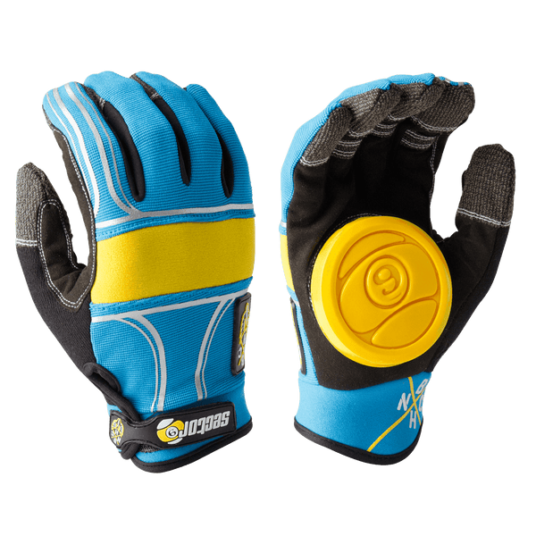 BHNC SLIDE GLOVES - BLUE