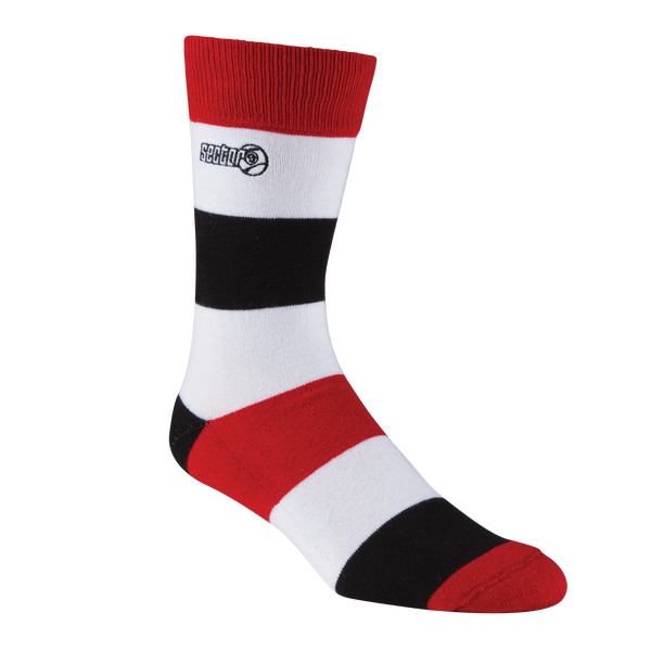 Bandito Socks Red
