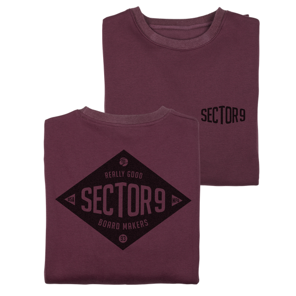 Makers Crew Neck Maroon