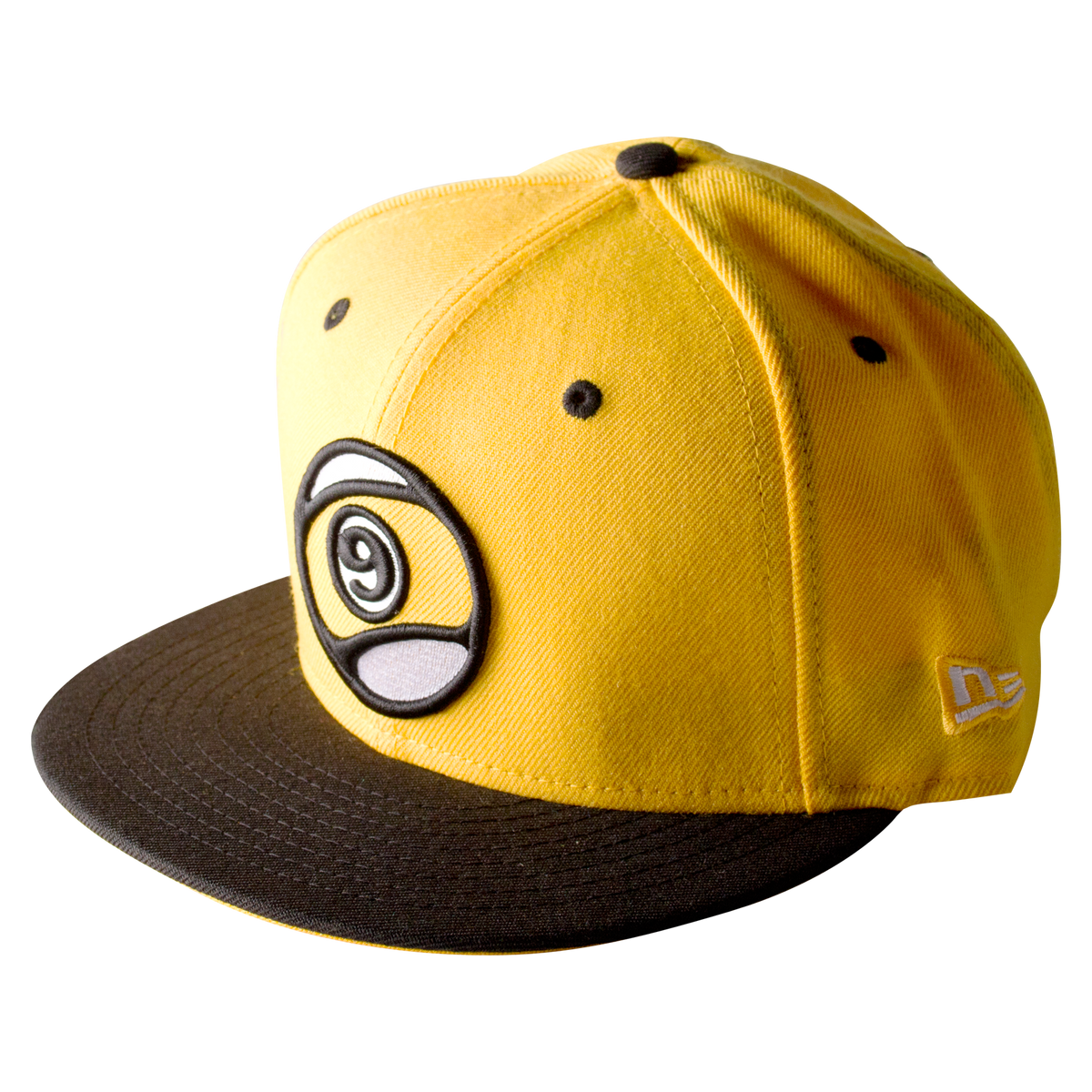 9 Ball Snapback Yellow