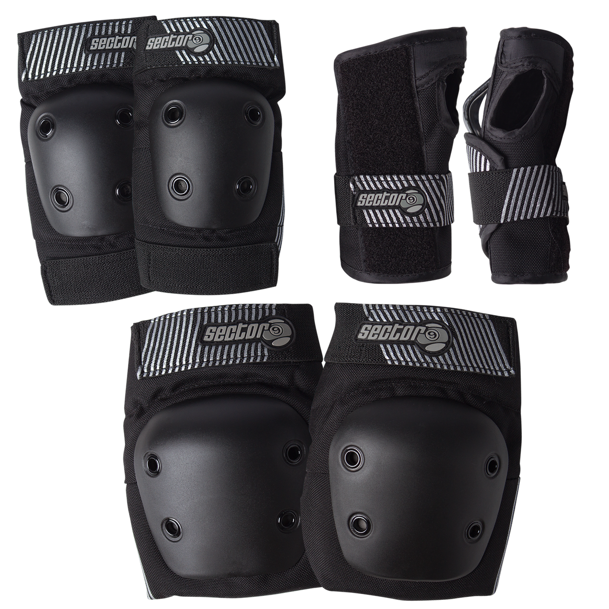 PURSUIT JR PAD SET - BLACK
