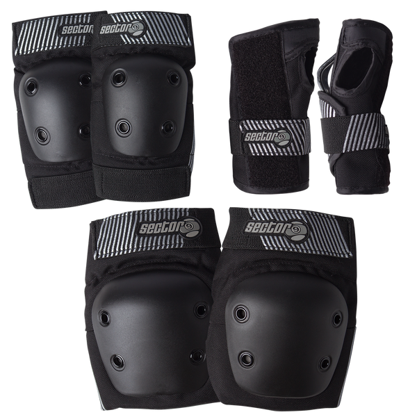 Junior Pursuit Pads Set Black