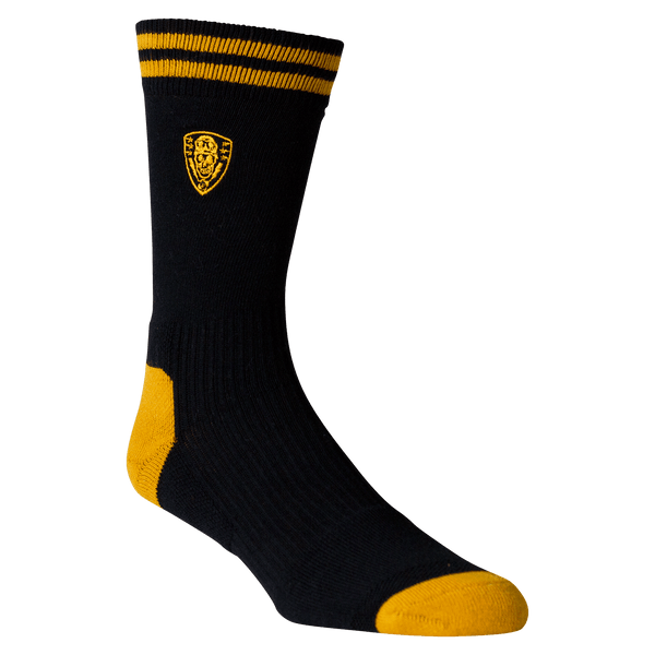 Pression Crew Socks Black