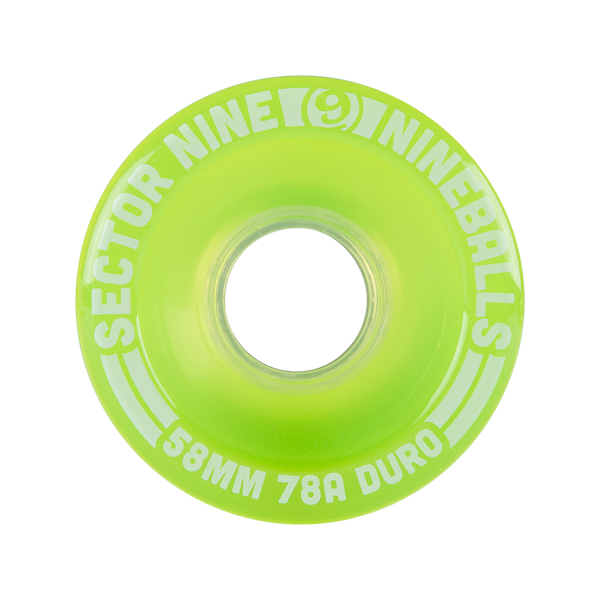 58mm 78a Nineballs Light Green