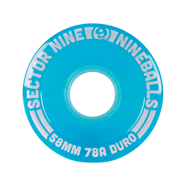 58mm 78a Nineballs Light Teal