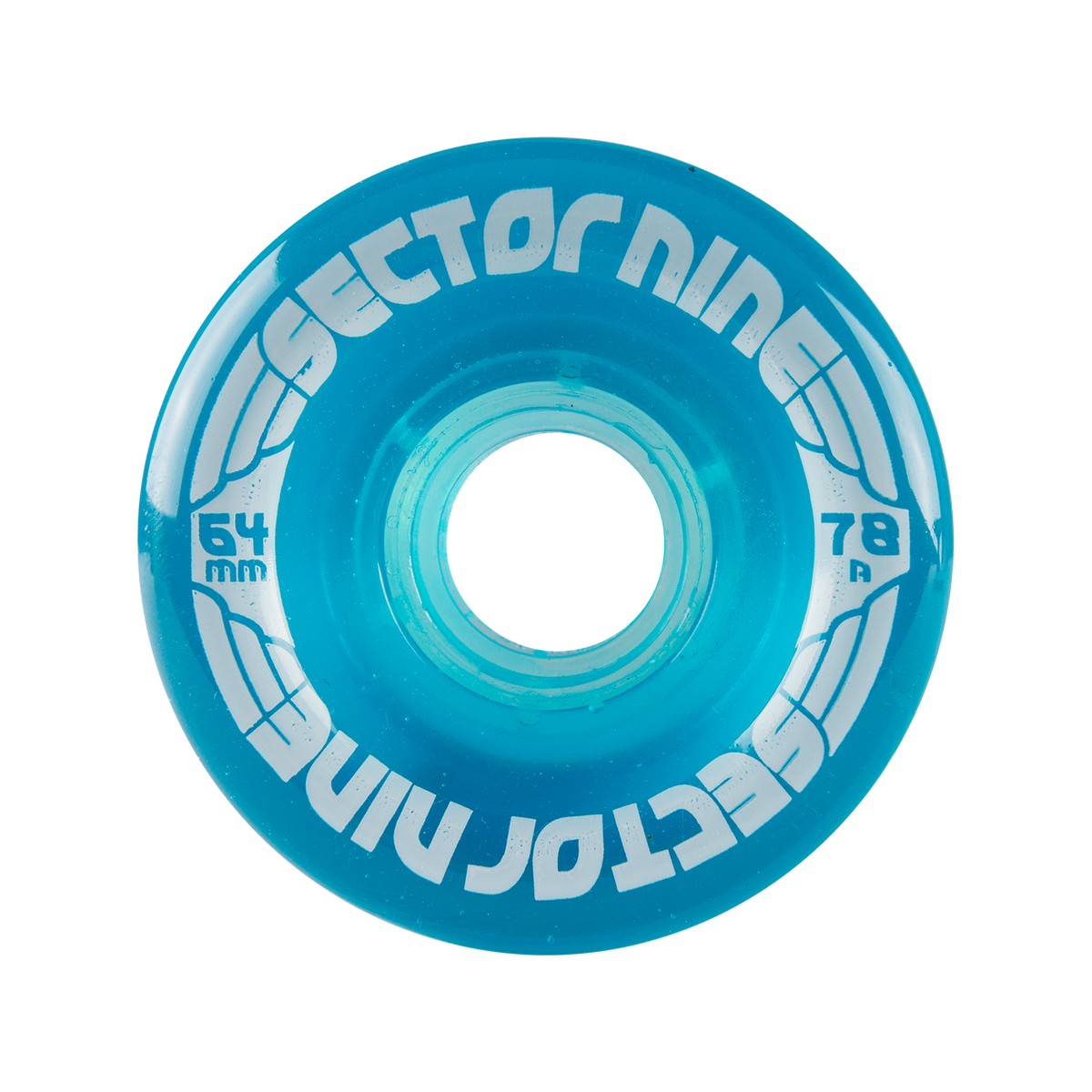 64mm 78a Nineballs Light Teal