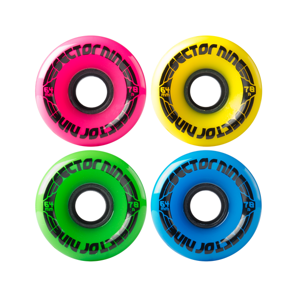 64mm 78a Nineballs Mixed Set
