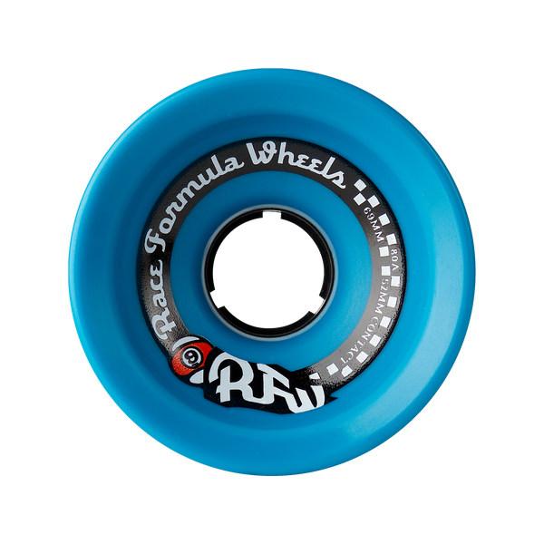 69mm 80a Race Formula Wheels Blue