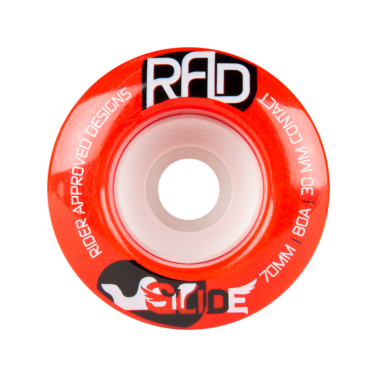 RAD 70mm 80a Glide Red