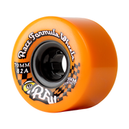 70mm 82a Centerset Race Formula Wheels Orange
