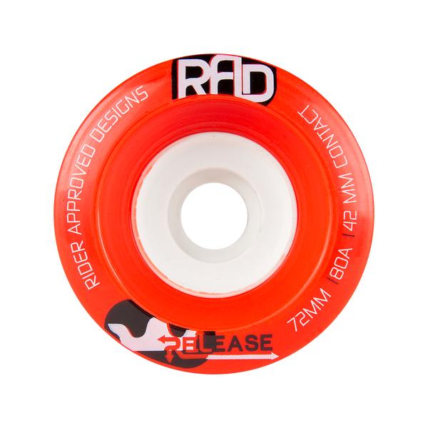 RAD 72mm 80a Release Red