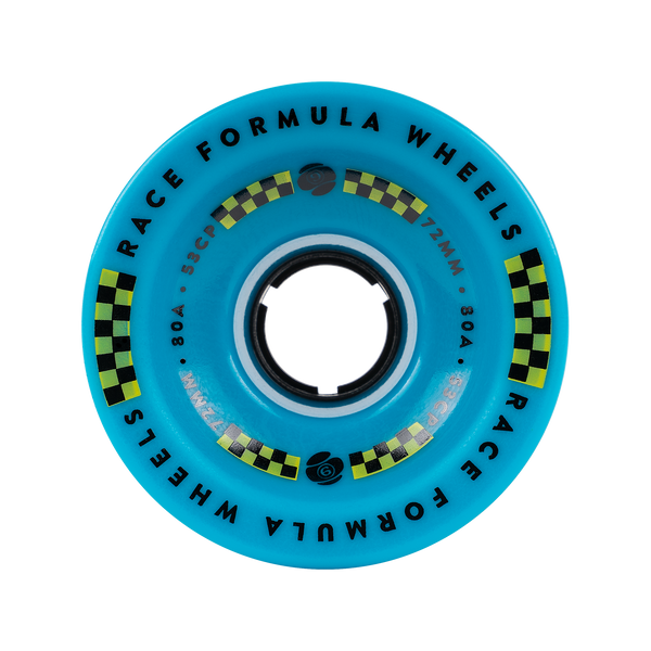 72mm 80a Race Formula Wheels Blue