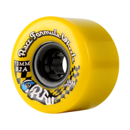 73mm 78a Race Formula Wheels Yellow