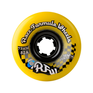 73MM 78A RACE FORMULA SKATEBOARD WHEELS YELLOW