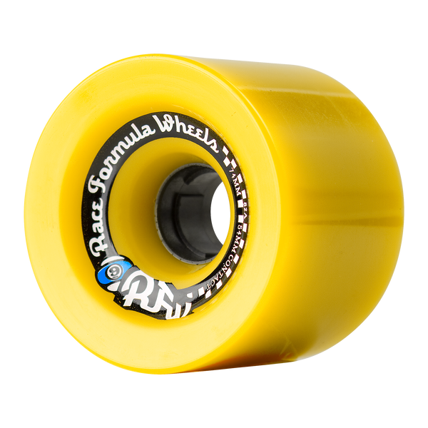 74mm 78a Race Formula Wheels Yellow