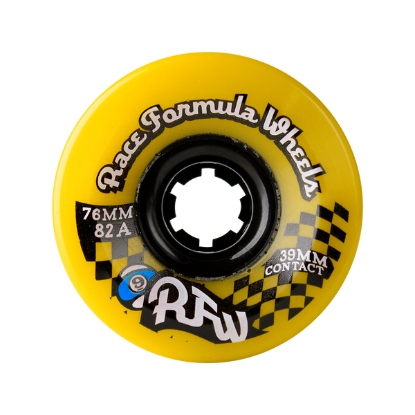 76mm 78a Race Formula Wheels Yellow