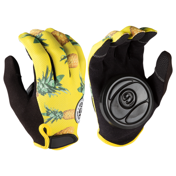 RUSH SLIDE GLOVES - YELLOW