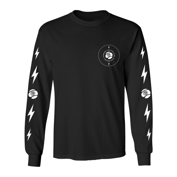 9 Volt Long Sleeve Tee Black