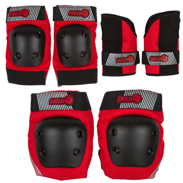 PURSUIT JR PAD SET - RED